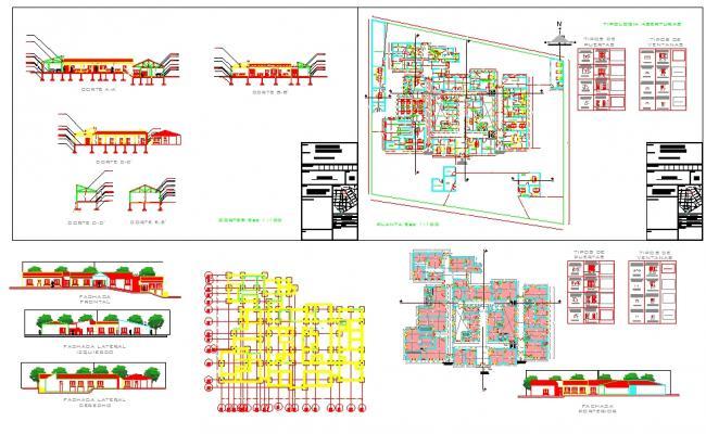 Hospital design File DWG