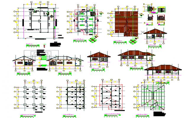 Floor House Detail