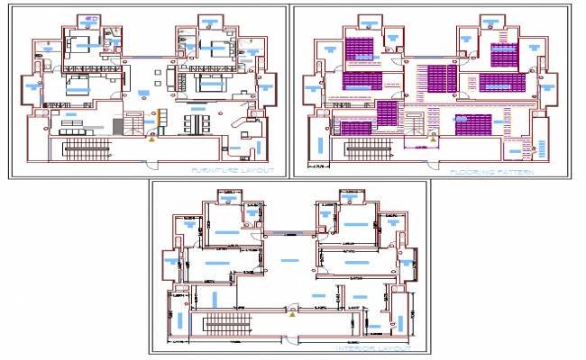Interior Lay-out For House