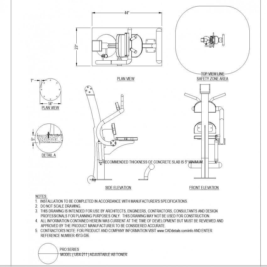 Adjustable toner autocad file