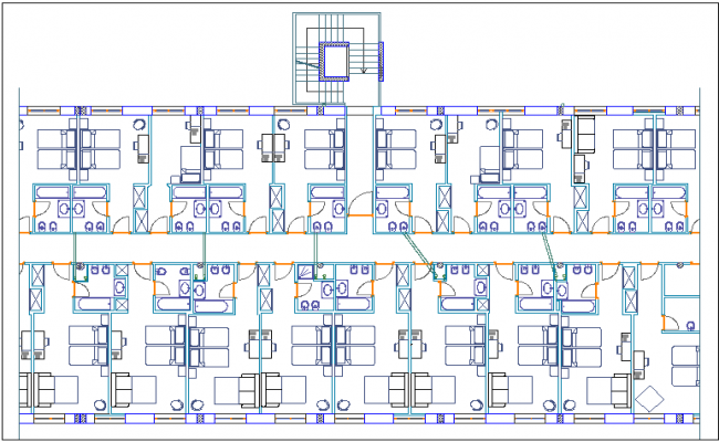 Hotel layout Plan