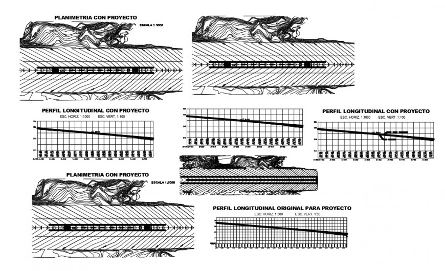 Airport landing runway structure cad drawing details dwg file