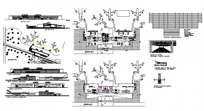 Airport Floor Plan Dwg