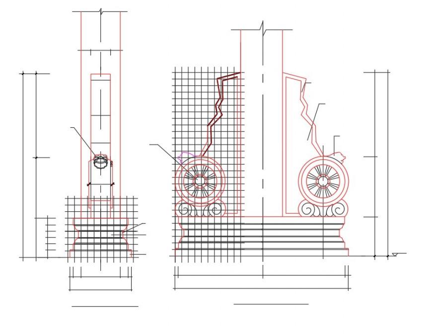 Arc plan design detail