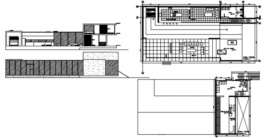 Architecture drawing house plan
