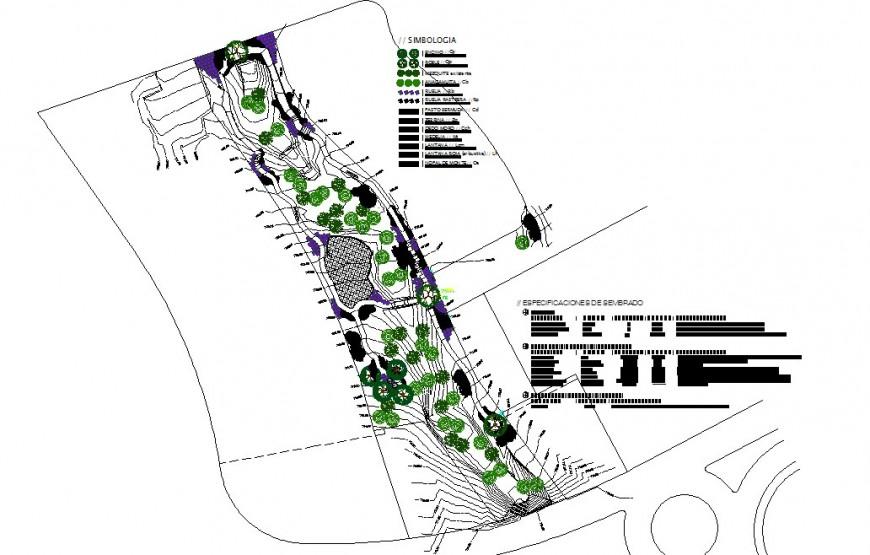 Area detail 2d view layout plan CAD block autocad file