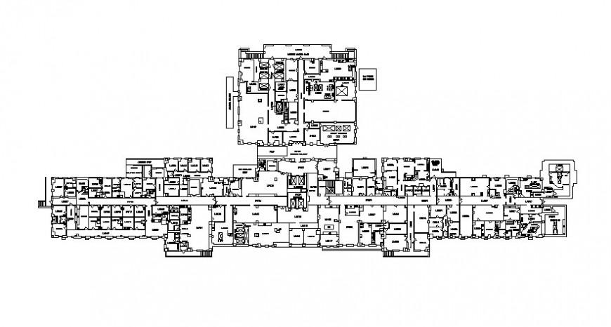 Autocad file of 2d hospital project design AutoCAD file