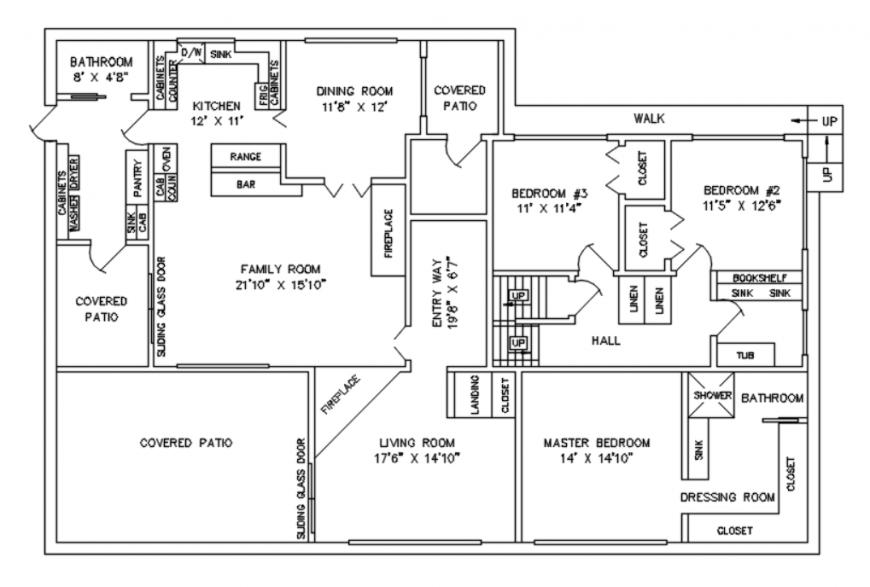 Autocad file of Ar house details