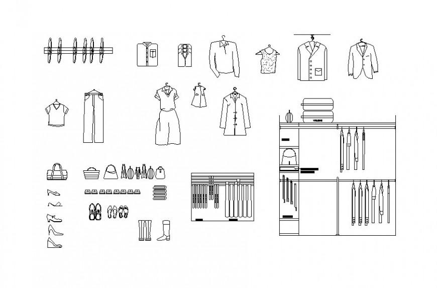 Autocad file of clothing AutoCAD file