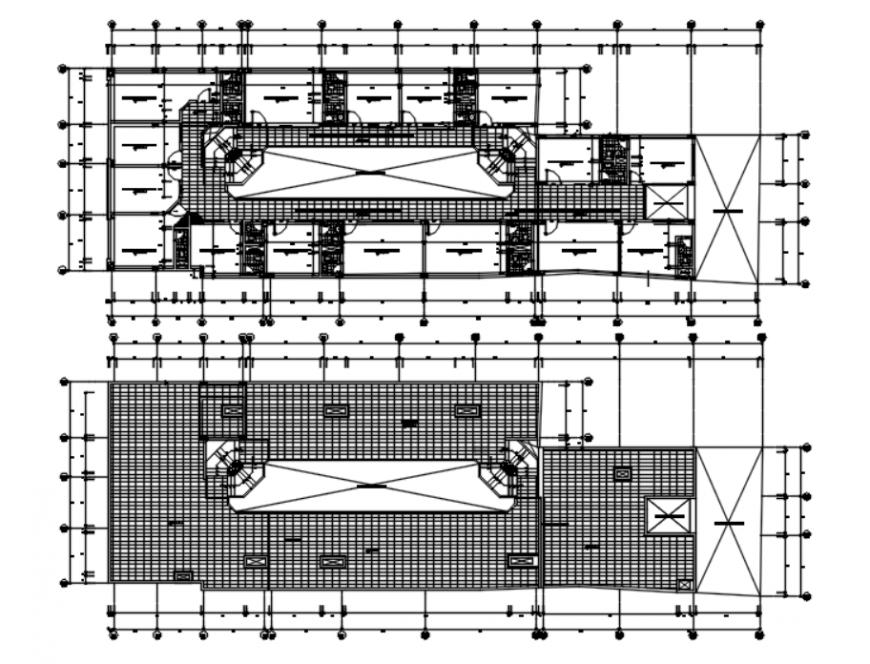 Autocad file of commercial unit detail