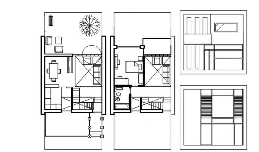 Autocad file of house design 2d details block AutoCAD file