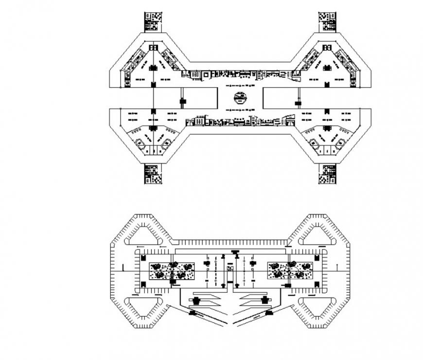 Autocad file of international airport 2d details