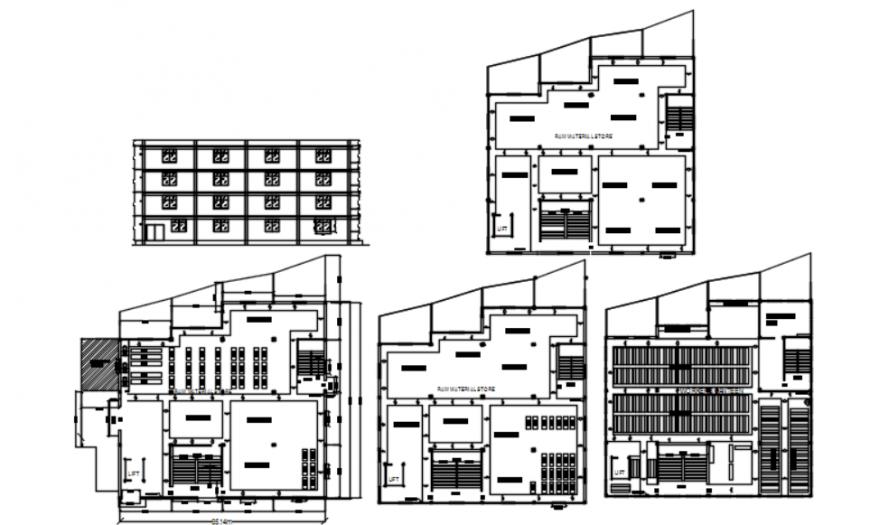 Autocad file of rcc factory details