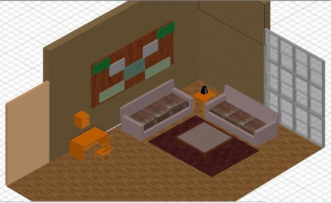 3d drawing room interiors
