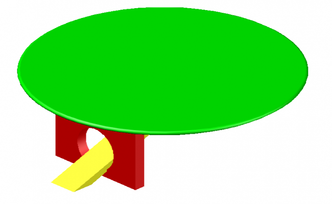 3D Centre table block