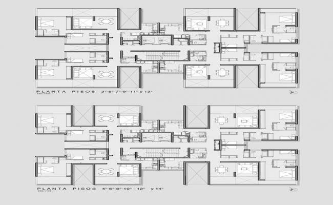 House lay-out