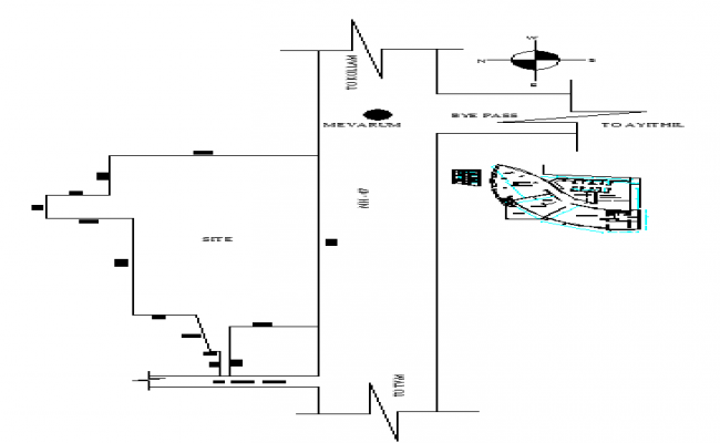 House Site Plot lay-out