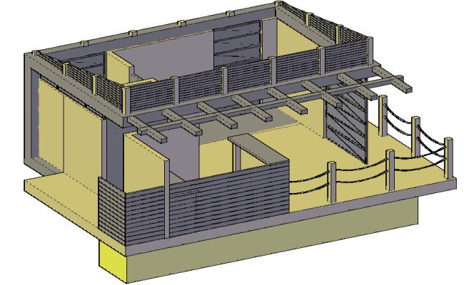 3D Boat House Design