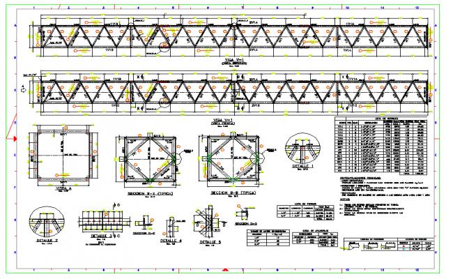 Structure Bridge detail