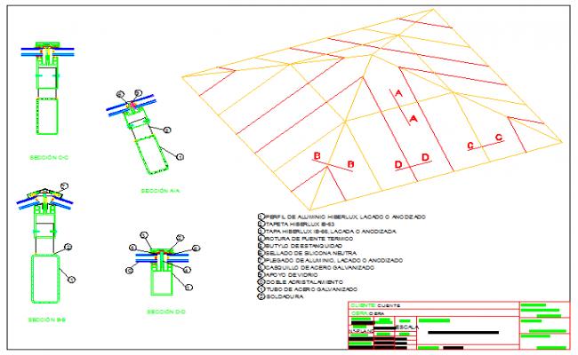 Aluminum Truss and Pyramid Steel design