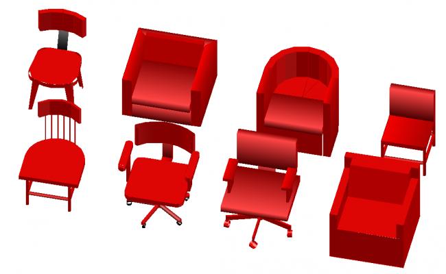 3D chair design