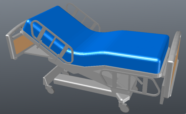 3D Bed for Hospital