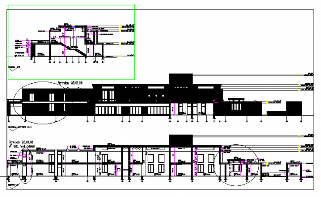Building Section design