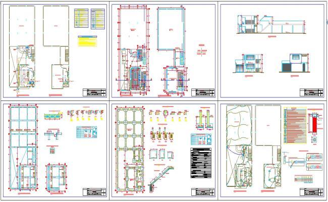 Restaurant Design plan project