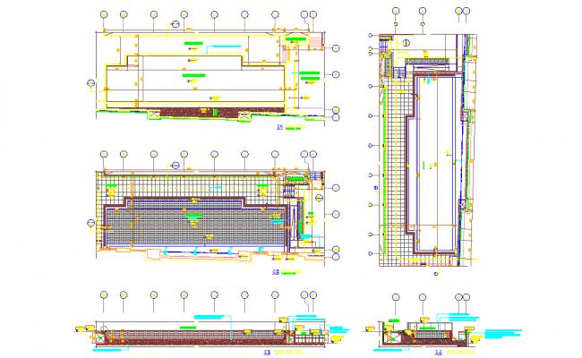 Swimming pool Design detail