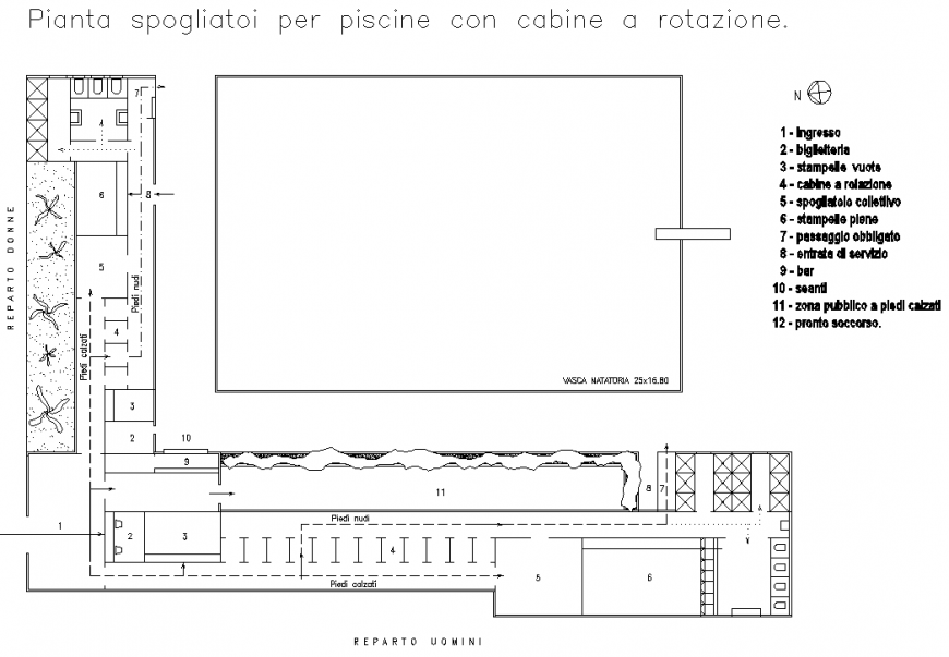 Bar plan detail dwg file.