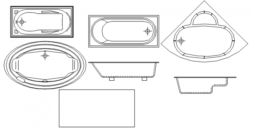 Bath tub details design