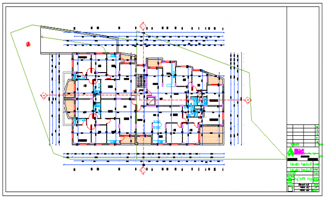 WORKING LAYOUT OF FLAT
