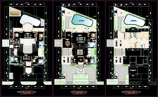 Bungalow Layout plan