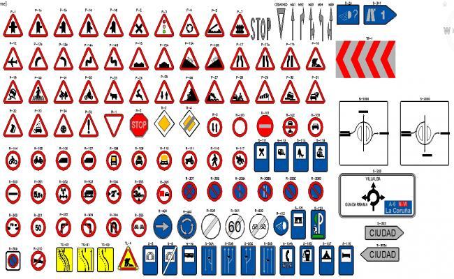 Traffic Signals Block Design file