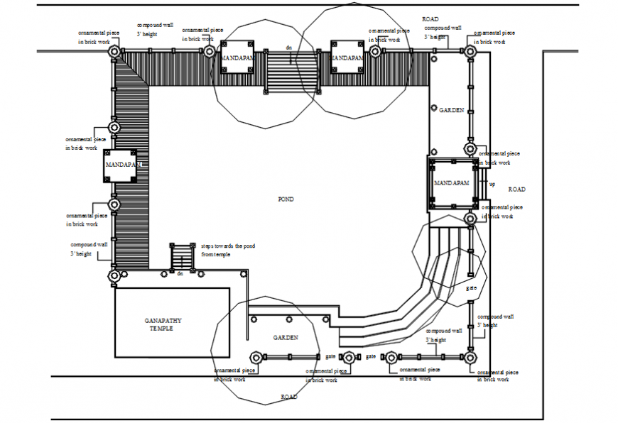 Beach club house site plan and location map drawing details dwg file