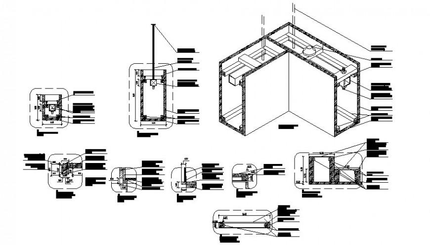 beam detail cad file