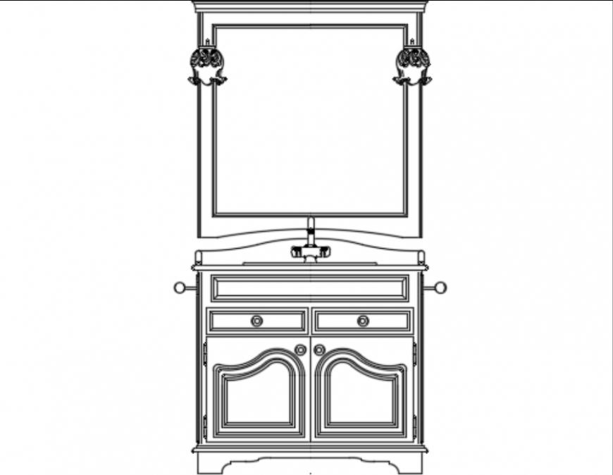 Bedroom dressing table design