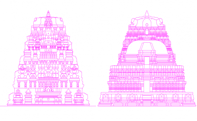 Temple Shikarams