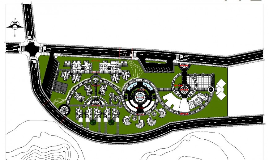 Big project file of hotel and resort