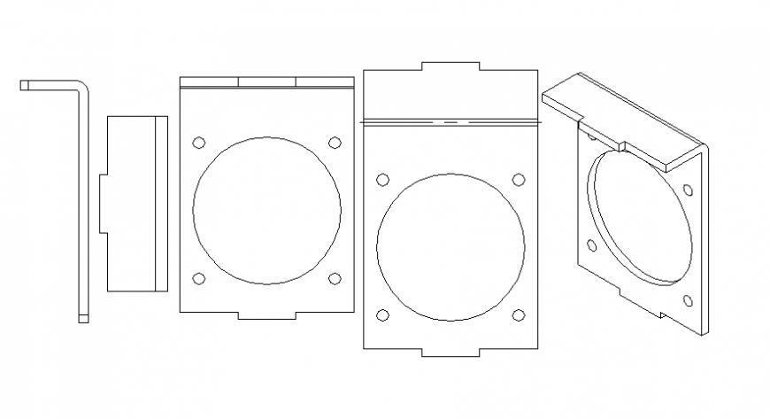 Bolt design sectional detail file