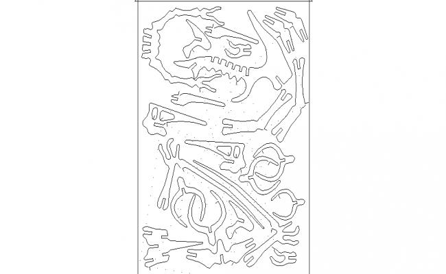 bones dwg file