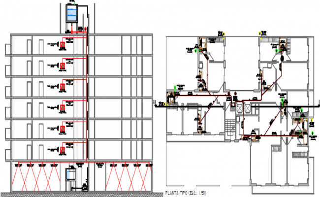 building dwg file