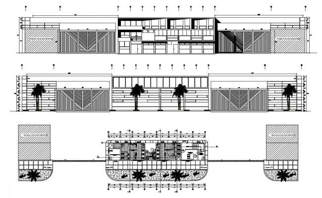 building elevation Free CAD Blocks