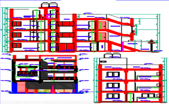bungalow dwg file