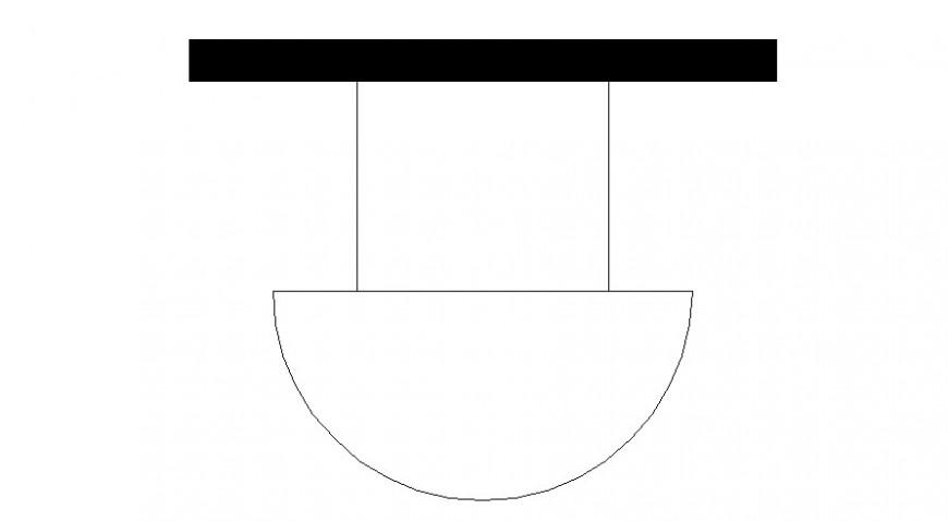 Buzzer logo and symbol in block of AutoCAD file