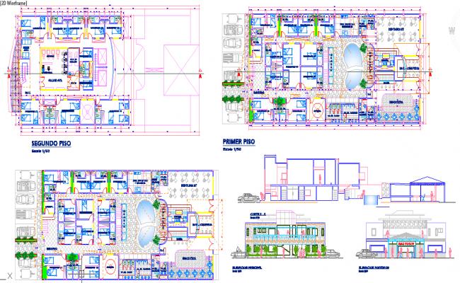 Hotel With Restaurant Plan