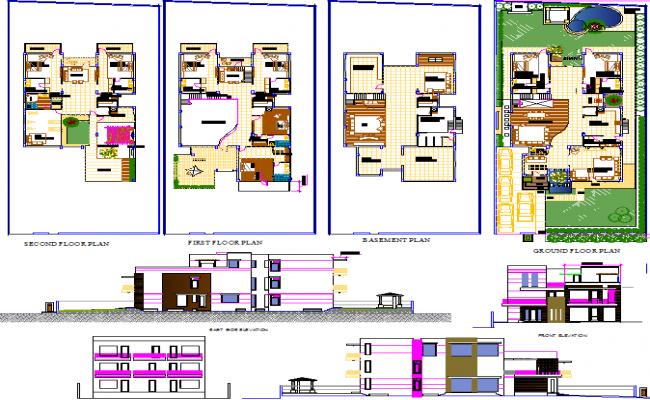 Residential Bungalow Plan