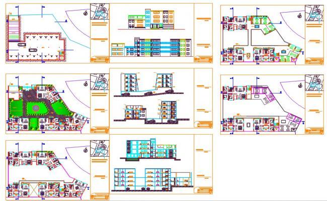 Family Residential House Plan