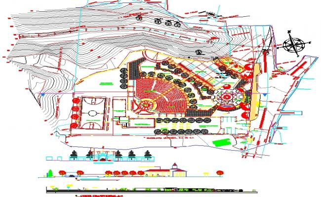 Park Lay-out plan