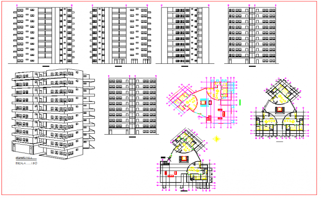 High Rise Building Plan
